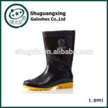 Мужчины дешево резиновый моды сапоги дождя сапоги мужчин ПВХ дождя сапоги мужские дождя сапоги L-B901