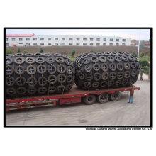 Diâmetro de 3000mm x comprimento 6000mm pneumático Fender