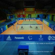 Rolo dos esportes do PVC da venda da fábrica de China / assoalho do bloqueio para o Handball