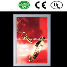 Alta qualidade LED Slim alumínio Frame publicidade caixa de luz