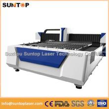 Machine de découpe au laser en fibre de tôle pour industrie publicitaire / Machine à découper au laser