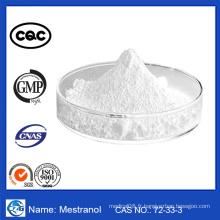 Meilleures ventes CAS No .: 72-33-3 Estrogen Mestranol