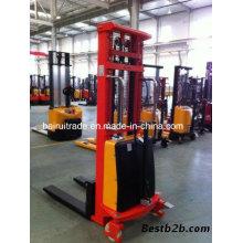 Warehouse Industrial Forklift Lift Truck Electric Pallet Truck Stacker