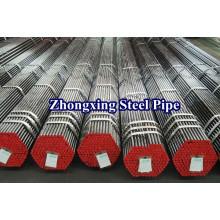 Baja aleación tubo de acero inconsútil retirado a frío de St52 DIN1629/DIN2448