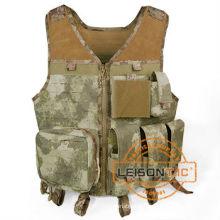 Colete de camuflagem assalto colete tático engrenagem colete exército ISO e padrão do GV