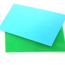 High Density A4 Size Rigid PP Plastic Binding Cover Sheet