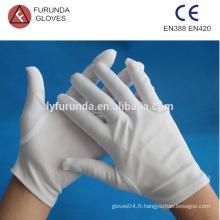 Gants d'inspection en nylon, 100% gants en nylon prix