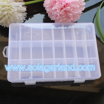 Plastic Storage Box 24-Container Personal Organizer Storage Box