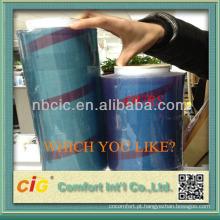 Filme macio colorido transparente de PVC de Plasitc Vinly para embalar