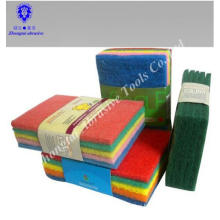 abrasive cleaning kitchen cleaning sponge , abrasive scouring pad