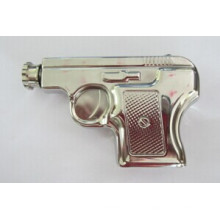 Amazon Vendor Pistole Form 6oz Hip Flasche Silber Farbe