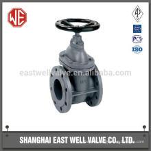 Butt welding power-station gate valve