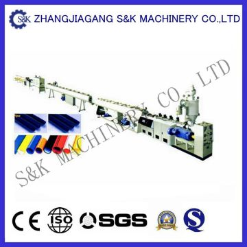 Machine d'extrusion de tuyauterie PPR recyclée industrielle