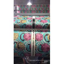 Haut de gamme tissé 100% coton cire imprimé tissu africain à vendre