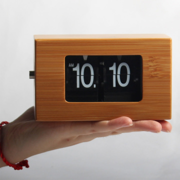 Mini Flip Clock para decoración de mesa