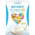 Cultivo de bacterias de yogur sano probiótico