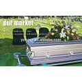 JS-ST606 wholesale high quality steel metal casket