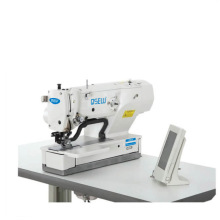 QS-1790S-12 Electronic direct drive short thread end long presser straight eyelet button holing industrial sewing machine