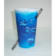 2015 titulares de vasos plásticos lenticulares azules