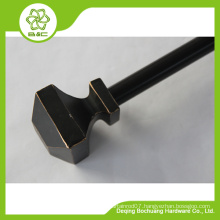 factory direct sale home use decorative resin finial curtain rod