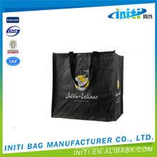 80gsm no tejidos sacos / bolsas de ultramarinos / bolsas plegables