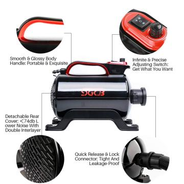 Pengering Cuci Mobil Air Cannon Blower Pet Grooming