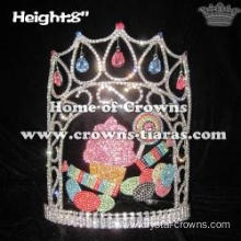 8in Height Cupcake Ice Cream Candy Crystal Pageant Crowns