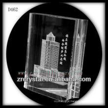 Imagem de laser 3D K9 dentro do livro de cristal