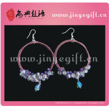 Clip de bijoux culturels de ShangDian sur des boucles d'oreille