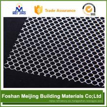 2017 new white color plastic mosaic mesh manufacturer