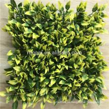 Nueva llegada color diferente pared artificial verde para la decoración del jardín