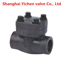 Forged Steel Spring Lift High Temperature Thread Check Valve