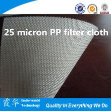 25 μm PP Filtertuch für Flüssigkeitsfilterbeutel