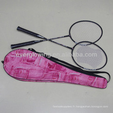 Nouveau Arriver Vente Chaude En Gros De Mode Cowboy Sac XL2000Sport Spécialisé En Aluminium Jointless Badminton Raquette OEM