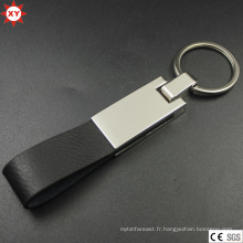 Nouveaux produits 2016 Leather Keychain