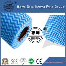 Tissu non-tissé de Spunlace pour des lingettes