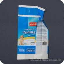 Saco de empacotamento sanitário plástico descartável para cuidados pessoais