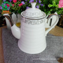 Durable porcelain drinkware ceramic tea kettles