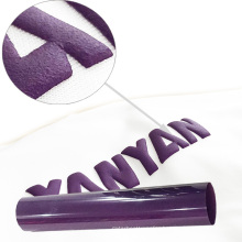 Angelacrox high quality textiles htv rolls bundle 3d puff heat transfer vinyl for clothing