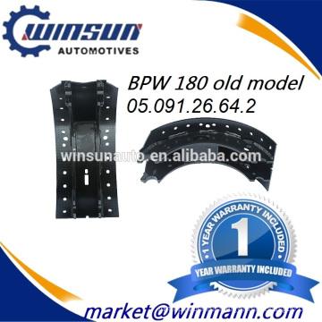 Long Life BPW 180 Old Model Brake Shoe 05.091.26.64.2 0509126642