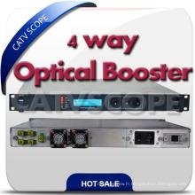 Amplificateur à fibre optique CATV 1550nm / amplificateur à fibre