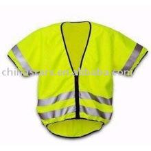 EN471 chaleco de seguridad reflectante de calentamiento clase 3