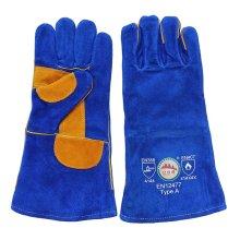 Сдвоенные перчатки для рук с двойной ладонью Cowhide