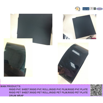 PVC schwarzes starres Blatt