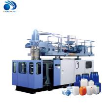 zhangjiagang semi automática 2ltr 30liter extrusión máquina de moldeo por soplado para hacer botella
