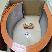 Capas de bigorna de corte rotativo para caixa de papelão