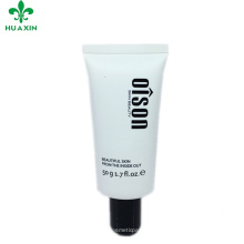 metal cosmetic packaging tubes for men cream oval with Cylindrical tube