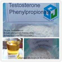 Edifício de corpo do Phenylpropionate 1255-49-8 da testosterona da pureza alta de 99%