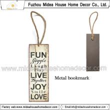 Cliente Comprar Metal Bookmarks Factory