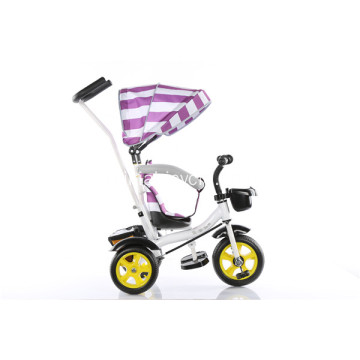Durable Baby Tricycle dengan Brake and Shadow